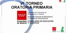 Torneo de Oratoria en Primaria Comunidad de Madrid - Cuarta prueba