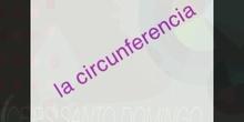 Primaria 6ºEP Circunferencia y círculos Matemáticas Formación Ximena