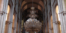 Nave central de la Catedral de Santiago de Compostela, La Coruña
