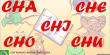 Tarjetas ortográficas ch, ll, y