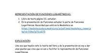 4º ESO B/C/D Representación de Funciones Logarítmicas