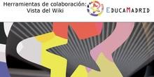 Herramienta de colaboración: Visor del Wiki