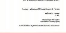 Recursos y aplicaciones TIC para profesores de Primaria