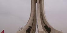 Monumento en Plaza del Gobierno, Túnez