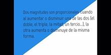 PRIMARIA - 6º - MAGNITUDES PROPORCIONALES - MATEMÁTICAS - FORMACIÓN.MOV