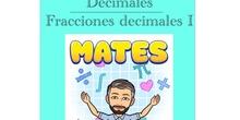 4º Matemáticas Decimales - Fracciones decimales I