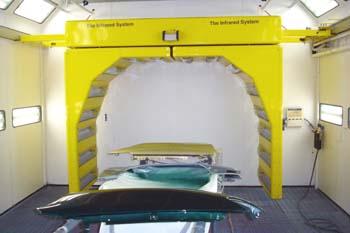 Arco de infrarrojos para cabina