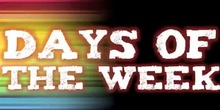 Cancion Días de la Semana en Inglés