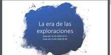 Clase de Geografía e Historia (3º ESO C - IES Las Rozas I - 12/03/2020)