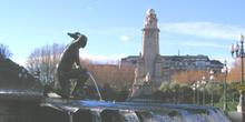 Fuente de Plaza España, Madrid