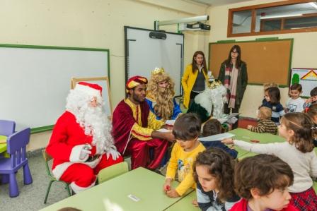Los RRMM y Papá Noel en INF 4C