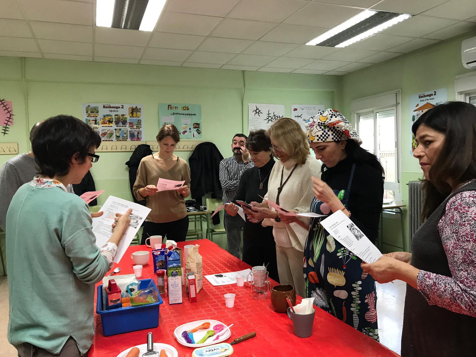 2018 12 Jornada Cultural Inglés Mugcakes