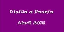 Visita a Faunia