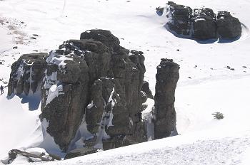 Formación rocosa. Picos de Urbión