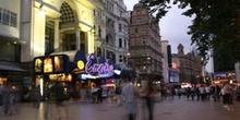 Cine en Leicester Square, Londres