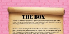 The Box - A Play Review by Paula Santos