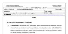 Ficha de Condición Física 5 para 2º ESO