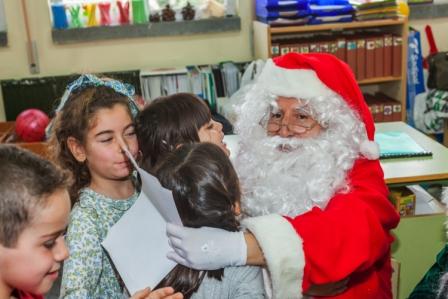 Los RRMM y Papá Noel en INF 5A 14