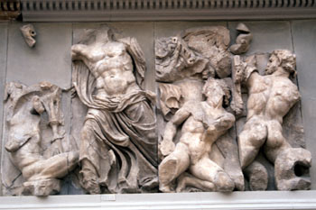Altar de Zeus, Museo de Berlín