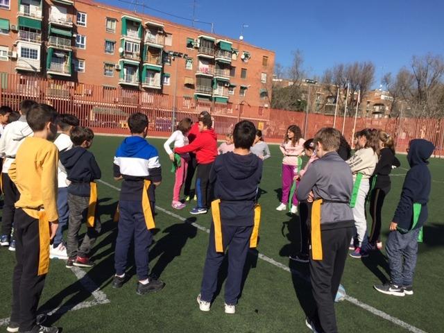 MAÑANAS ACTIVAS. Polideportivo San Vicente de Paul 1. Boxeo, Rugby, Padel y Hockey 5