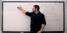 Resolución de sistemas por el método gráfico