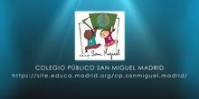 Semana del Libro 2021 en CEIP San Miguel Hortaleza Madrid