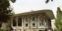 Pabellón de autoridades, Palacio de Topkapi baldaquino, Estambul