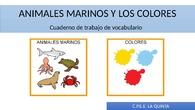ANIMALES MARINOS Y LOS COLORES