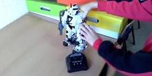 Un robot programable por mando