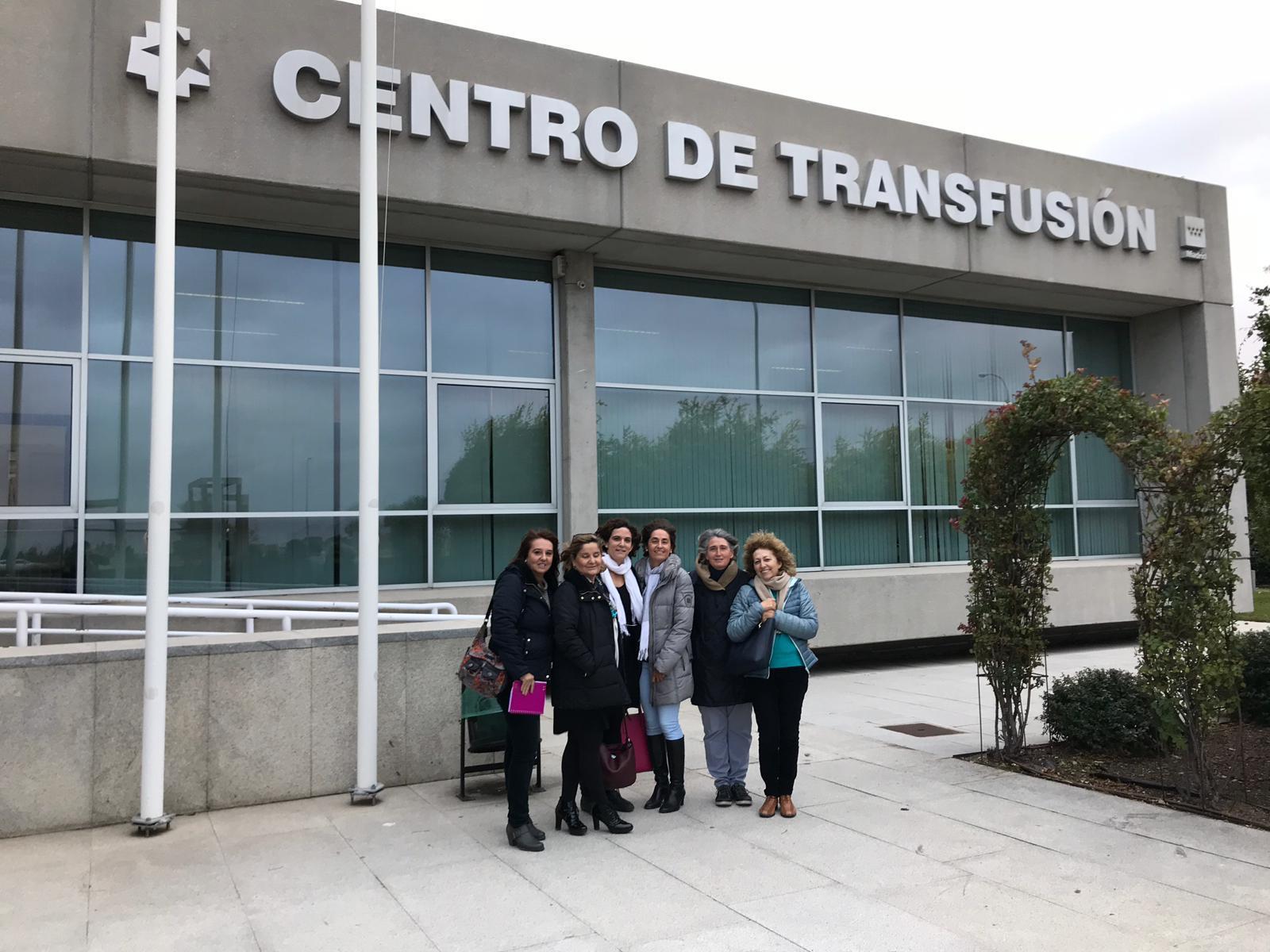 VISITA CENTRO DE TRANSFUSIÓN DE SANGRE 2