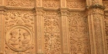 Detalle de la fachada del Edificio Histórico de la Universidad,