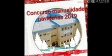 Concurso manualidades navideñas 2019