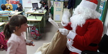 Santa Claus comes to School 21