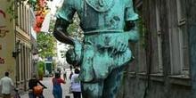 Escultura de calle en Dusseldorf