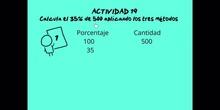 SECUNDARIA - 1º ESO - PROPORCIONES 3 - MATEMÁTICAS - FORMACIÓN
