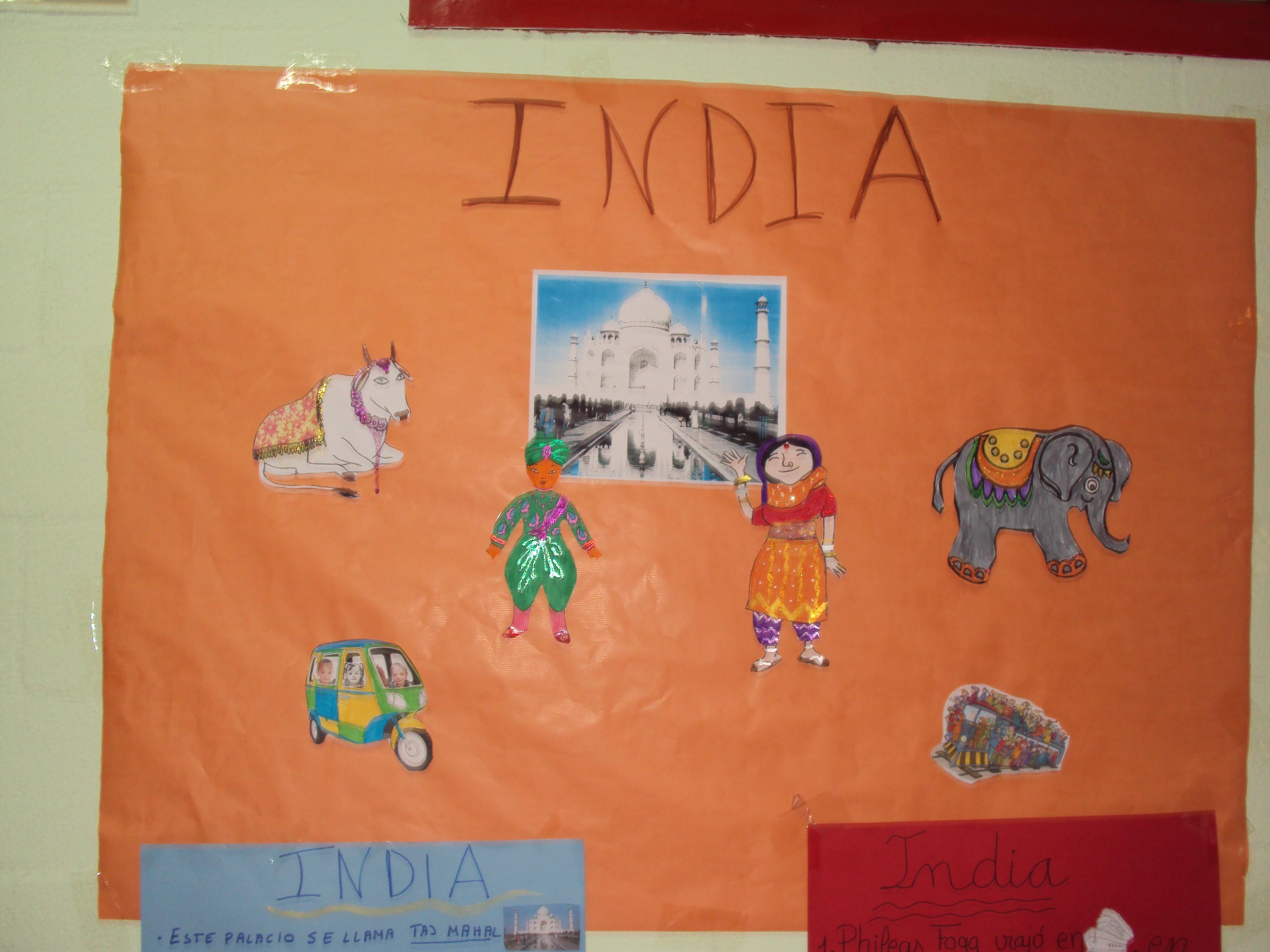 PROYECTO LA VUELTA AL MUNDO: INDIA