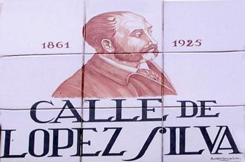 Indicativo de calle, Calle de López Silva, Madrid