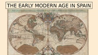 Early Modern Ages in Spain