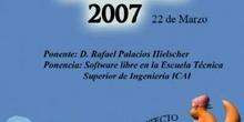 Boadinux 2007 - Software Libre en la Escuela Técnica Superior de Ingeniería ICAI.