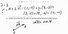 Primero de bachillerato_herramientas básicas de la geometría_distancia entre dos puntos_ejercicio 8