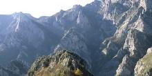 Vista parcial de los Picos de Europa