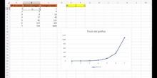 Hoja de cálculo - r variable
