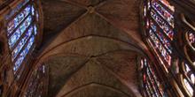 Bóveda de crucería, Catedral de León, Castilla y León