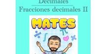 4º Matemáticas Decimales - Fracciones decimales II