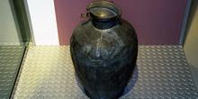 Utensilios domésticos: Bidón para recoger leche y nata, Museo de