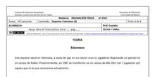 Ficha Deportes Colectivos 4 para 2º ESO