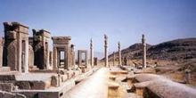 Palacio de Darío y apadana, Persépolis (Irán)