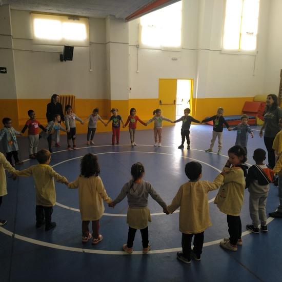 Jornadas Culturales. Musica y Movimiento. Infantil 3