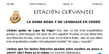 La dama boba (Lope de Vega) y lenguaje en verso - Literatura - Área de Lengua - 5º y 6º Primaria