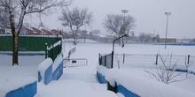 Nieva en el cole